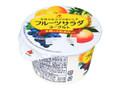 北海道乳業 フルーツサラダヨーグルト カップ130g