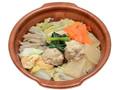 セブン-イレブン 1日に必要とされる野菜1/2が摂れる鶏団子鍋