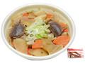 セブン-イレブン 煮込み野菜うどん 平打ち麺醤油味