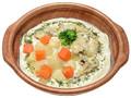セブン-イレブン スープで食べる!クラムチャウダーパスタ