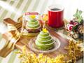 セブン-イレブン 抹茶&クレームブリュレ クリスマスツリーケーキ