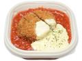 セブン-イレブン トマトとチーズソースで食べる!メンチカツ丼