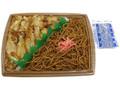 セブン-イレブン 鶏めし&焼きそば弁当 鶏めし用タレ付き
