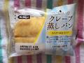 日糧 クレープ蒸しパン カスター&ホイップ 1個