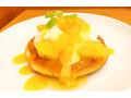 ガスト パイナップルとマンゴーのトロピカルパンケーキ