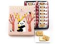 ねんりん家 パンダのシュガーバターサンドの木 箱7個