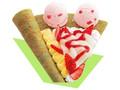 サーティワン アイスクリームクレーププレミアム 洋風いちごクリーム大福&アイスクリーム