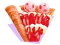 サーティワン アイスクリーム贅沢クレープ ストロベリーショートケーキ&アイスクリーム
