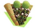 サーティワン アイスクリームクレーププレミアム 抹茶ブラウニー×ショコラ&アイスクリーム