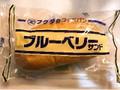 福田パン フクダのコッペパン ブルーベリーサンド 袋1個