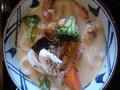 丸亀製麺 クラムチャウダーうどん