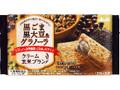 アサヒ クリーム玄米ブラン 黒ごま黒大豆&グラノーラ 袋2枚×2