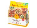 アマノフーズ いつものおみそ汁 5種バラエティセット 5食入 袋45g