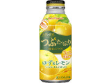 ポッカサッポロ つぶたっぷり 贅沢シトラス ゆず&レモン 缶400g