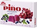 森永 ピノ 魅惑の濃厚ジェラート グレープ&ベリー 箱10ml×6