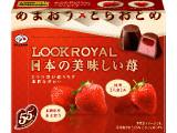 不二家 ルックロイヤル 日本の美味しい苺 箱8粒