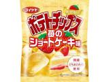 コイケヤ ポテトチップス 苺のショートケーキ味 袋60g