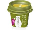 雪印メグミルク 栗原さんちのおすそわけ まろにが抹茶プリン すっぱめレモンソース カップ90g