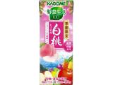 カゴメ 野菜生活100 白桃ミックス パック195ml