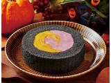 ローソン プレミアムかぼちゃ&紫芋のロールケーキ