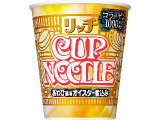 日清 カップヌードル リッチ あわび風味オイスター煮込み カップ73g