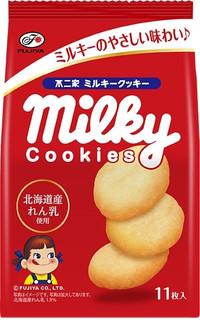新発売のおやつ:不二家「ミルキークッキー」ほか