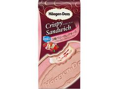 ハーゲンダッツの新作クリスピーサンドは濃厚爽やかな「3種ベリーのレアチーズ」!