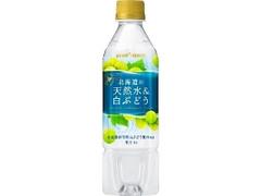ポッカサッポロ 北海道の天然水&白ぶどう ペット500ml