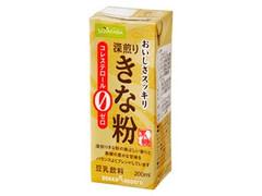 ソヤファーム おいしさスッキリ 深煎りきな粉豆乳飲料 パック200ml