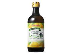 ポッカサッ レモン果汁を発酵させて作ったレモン酢 瓶450ml