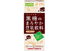 ソヤファーム 黒糖のまろやか豆乳飲料 ユーグレナ入り パック200ml