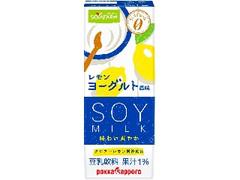 ポッカサッポロ ソヤファーム おいしさスッキリ レモンヨーグルト風味豆乳飲料 パック200ml