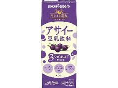 ポッカサッポロ キレイの恵み アサイー豆乳飲料 パック200ml
