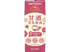 ポッカサッポロ キレイの恵み 甘酒豆乳飲料 パック200ml