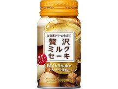ポッカサッポロ 北海道クリーム仕立て贅沢ミルクセーキ 缶170ml