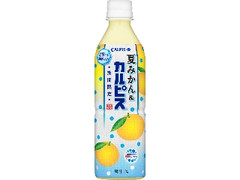 カルピス 夏みかん&カルピス ペット490ml