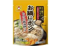 マルちゃん お鍋にポン とんこつ醤油鍋つゆ 袋5g×6
