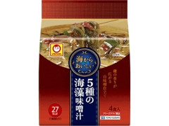 マルちゃん 海からおいしい5種の海藻味噌汁 袋8.1g×4