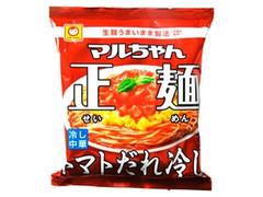 マルちゃん正麺 トマトだれ冷し 袋117g