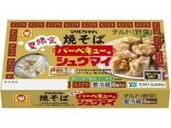 マルちゃん 焼そば バーベキュー味 シュウマイ 箱144g