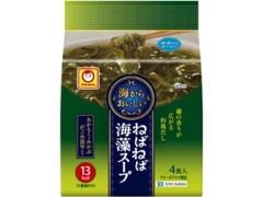 マルちゃん 海からおいしい ねばねば海藻スープ 袋4.6g×4