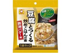 マルちゃん 豆腐とつくる炒めごはんの素 醤油バター味 袋27.4g