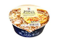 セブンプレミアム 風味豊かな天ぷらそば カップ102g