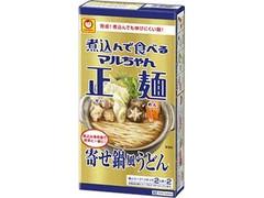 マルちゃん 煮込んで食べるマルちゃん正麺 寄せ鍋風うどん 箱290g