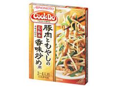 味の素 CookDo 豚肉ともやしの香味炒め用 箱100g