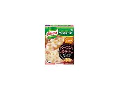 クノール カップスープ ベーコンとポテトがたっぷりのポタージュ 箱3袋