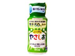 味の素 やさしお 塩分50%カット 瓶90g
