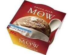 森永 MOW チョコレート エクアドルカカオ カップ140ml