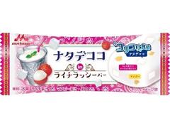 森永 ナタデココinライチラッシーバー 袋80ml