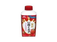 森永 贅沢苺ミルク パック400ml
